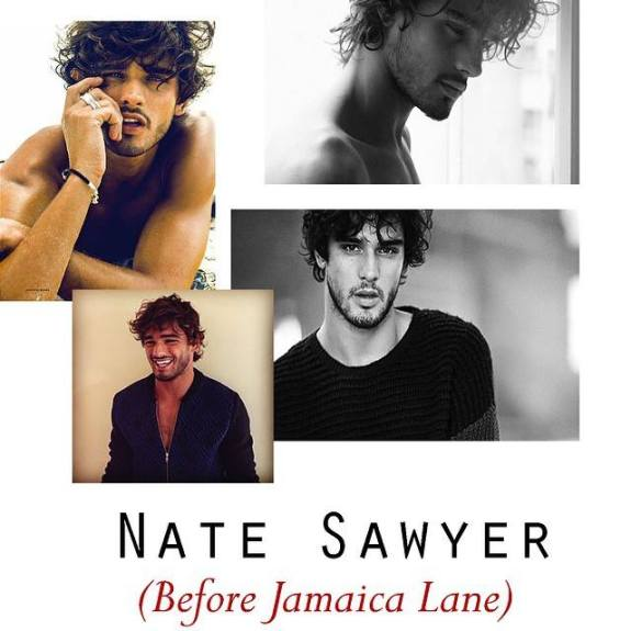 This is who Samantha says she envisioned as Nate.