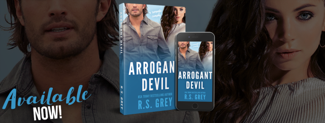 Arrogant Devil by R.S. Grey Available Now!